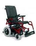 VERMEIREN Navix (tracción trasera) silla de ruedas eléctrica rojo