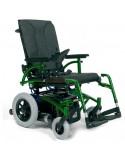 VERMEIREN Navix (tracción trasera) silla de ruedas eléctrica verde