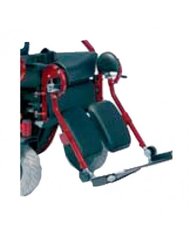 Reposapiés elevables manuales (par)  VERMEIREN accesorio para silla de ruedas eléctrica Navix