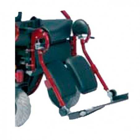Reposapiés elevables manuales (par)  VERMEIREN accesorio para silla de ruedas eléctrica Forest GT