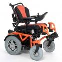 VERMEIREN Springer silla de ruedas eléctrica en naranja