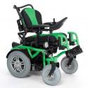 VERMEIREN Springer silla de ruedas eléctrica en verde