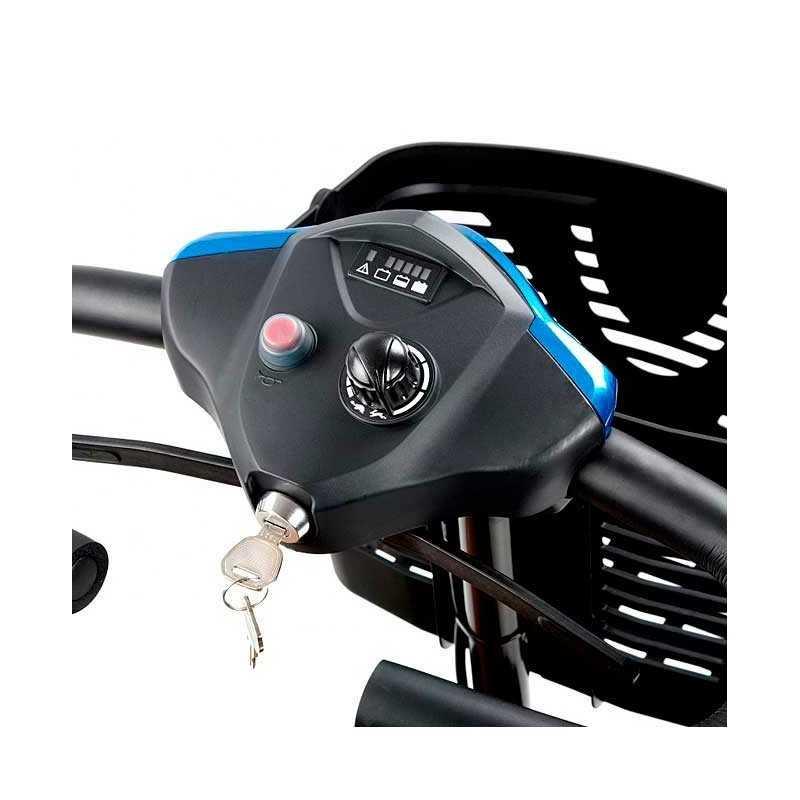 Cilindro con 2 llaves (repuesto) INVACARE accesorio para Scooter Colibrí